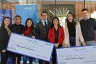 Dos estudiantes de Ingeniería Comercial en Administración son premiadas por ser los mejores talentos del Programa Avanza de L'Orèal Chile