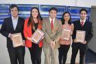 Facultad de Administración y Economía de la USACH distinguió a sus mejores estudiantes del 2018