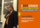 """Hans Berner, Ingeniero Comercial, President OPKO Health Iberoamérica: """"A la FAE le debo todo lo que soy como persona"""""""