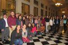 Estudiantes de Ingeniería Comercial de la Facultad de Administración y Economía USACH visitan el Banco Central de Chile