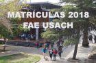 Facultad de Administración y Economía USACH informa a cerca del proceso de matrículas 2018